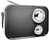 Polaroid PBT533 Retro Wireless Fm Radio and Bluetooth Speaker - Black