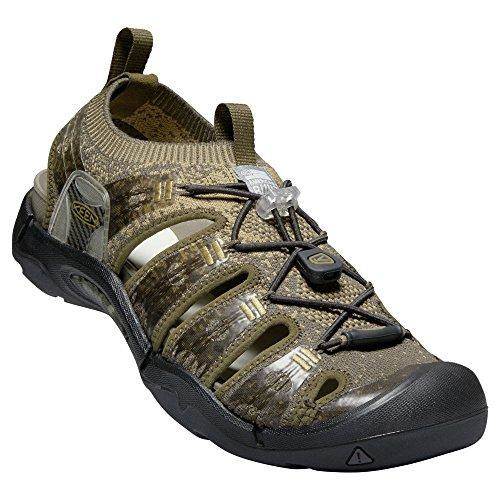 KEEN - Men's EVOFIT ONE Water Sandal for Outdoor Adventures, Dark Olive/Antique Bronze, 10.5 M US (Mill Natural Bronze)
