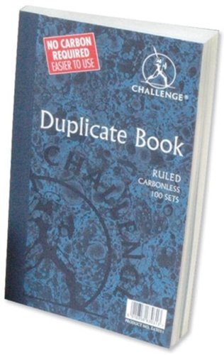 Challenge Duplicate Book Carbonless Ruled 248x187mm Ref B63038 [Pack 3]
