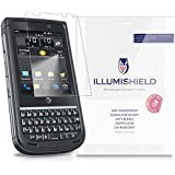iLLumiShield - NEC Terrain Screen Protector Japanese Ultra Clear HD Film with Anti-Bubble and Anti-Fingerprint - High Quality (Invisible) LCD Shield - Lifetime Replacement Warranty - [3-Pack] OEM / Retail Packaging (For: AT&T)