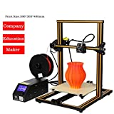 Xiangtat CR-10 DIY 3D Printer Kit 300 300 400mm Printing Size 1.75mm 0.4mm Nozzle
