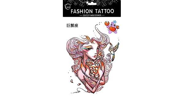Tatuajes Temporales Para Diferentes constelación cáncer de 12 ...