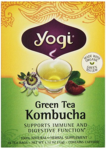 Yogi Herbal thé vert Kombucha