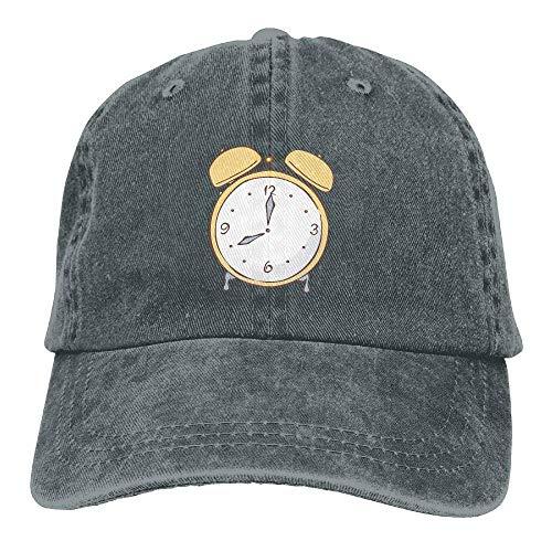 Time Hats Cap Clock Men DEFFWB Cowboy for Skull Denim Hat Sport Women Cowgirl Ex6wn1qT4U
