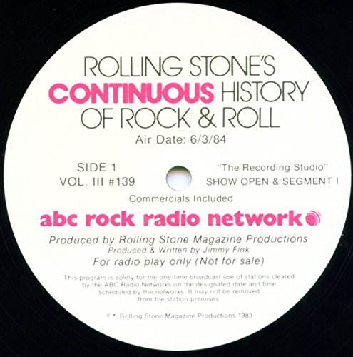 - Rolling Stone's Continuous History of Rock and Roll #139: The Recording Studio: Paul McCartney 2 LP Vinyl