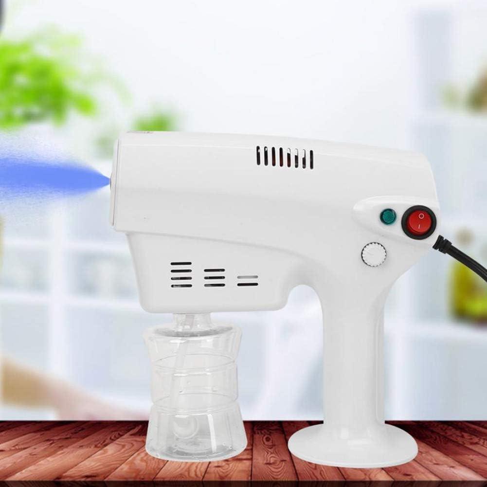 Law Hair Steamer Nano Steam Gun, 1200W 260ML Hair Care Spa Humidifier Nano Hair Care Remove Frizz Repair Straw Suitable for Both Salon and Home