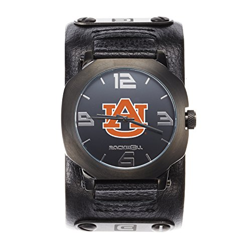 Auburn Tigers Sport Watch (NCAA Auburn Tigers Men's Assassin Watch, Adjustable, Black)