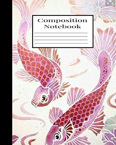 Composition Notebook: Koy Fish (Composition Notebooks)