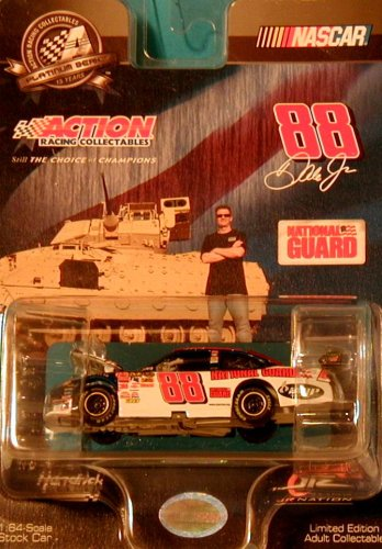 2008 NASCAR Dale Earnhardt Jr. #88 National Guard 1/64 Hood Open Car Action Racing Collectables (Action Racing Collectables Hood)