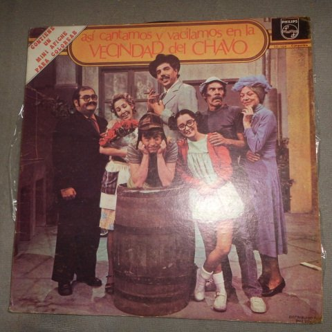 Ocho – Así Cantamos Y Vacilamos En La Vecindad Del Chavo - Vinyl, LP, Album ()