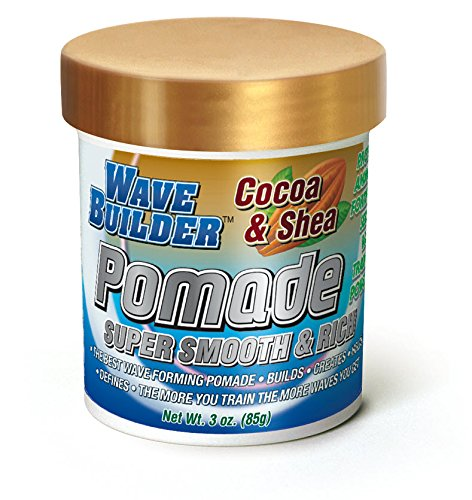 Shea Pomade | Super Smooth & Rich Formula Promotes Healthy Hair Waves, 3 Oz (360 Wave Pomade)