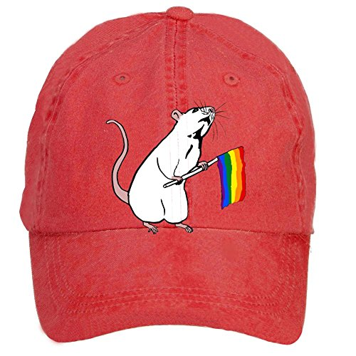 sungboys-unisex-rats-take-flag-sports-baseball-hats-caps