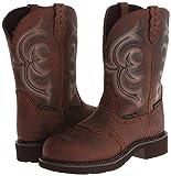 Justin Womens WKL9984 Brown Boots 7 B - Medium