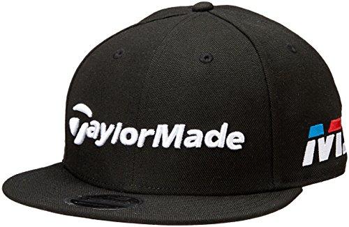 TaylorMade 2018 New Era Tour 9Fifty Hat Adjustable Mens Snapback Golf Cap Black