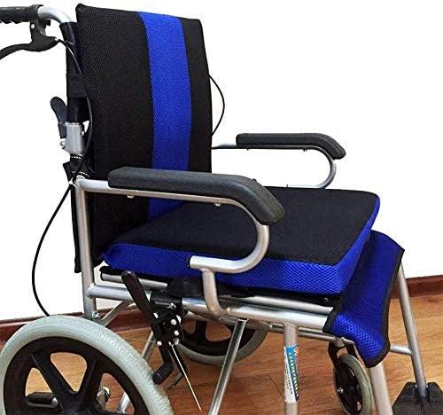 VGZ Rollstuhlkissen Anti-Dekubitus- Rückenkissen zur Linderung von Rückenschmerzen Ischias Tailbone Pain Body Support Rücken für Rollstuhlfahrer und den täglichen Gebrauch
