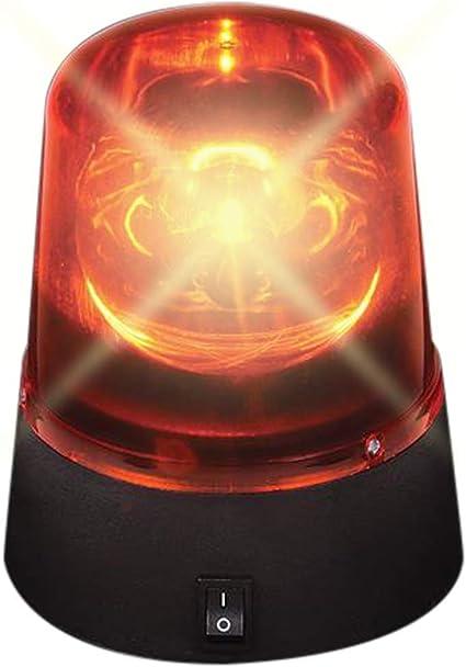 "Skymaster Mini-DEL Police Light Rouge Mini DEL Police Light 4.25/"" Red Light"