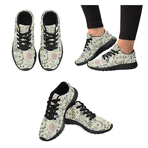 Scarpe Da Corsa Da Donna Winterprint Running Da Jogging Leggero Sportivo A Piedi Sneakers Atletiche Foglie Tropiche