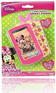 Disney Minnie Mouse HOT PINK Smart Phone with Realistic Sounds! by ...