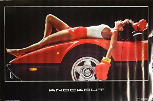 1984 Ferrari (Knock Out 22x34 Swimsuit Bikini Model Poster 1984 Ferrari Original S104)