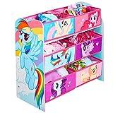 Hello Home My Little Pony Kids' Storage Unit, Wood, Pink, 30 x 63.5 x 60 cm