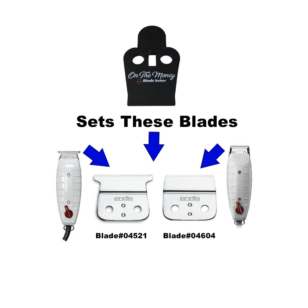 ON THE MONEY 10 Sec Blade Setter (Compatible with Andis T-Outliner & Outliner II Blades) by The Rich Barber (Image #3)