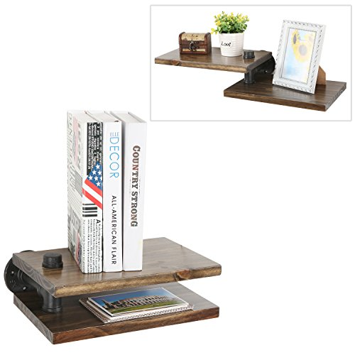 Mounted Storage Industrial Floating Shelves