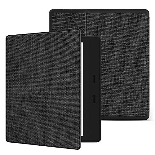 - Ayotu Fabric Soft Case for All-New Kindle Oasis(10th Gen, 2019 Release & 9th Gen, 2017 Release) Thinnest and Lightest New 7''Kindle Oasis Cover with Auto Wake/Sleep,Soft Shell Series KO The Dark Gray