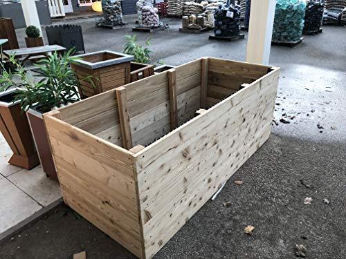 Bancal, madera de alerce, barricas, plantas, Alerce, verduras ...