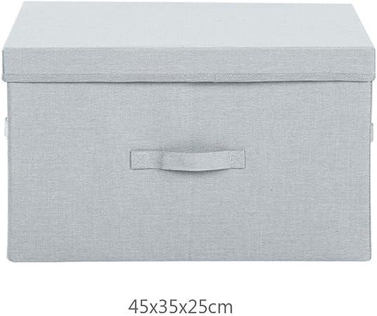 sanshao - Caja organizadora de Tela para Ropa (45 x 35 x 25 cm): Amazon.es: Hogar