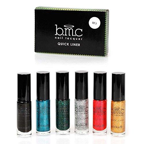 bmc-6pc-long-striper-dotting-brush-diy-quick-liner-nail-art-glitter-and-shimmer-polishes