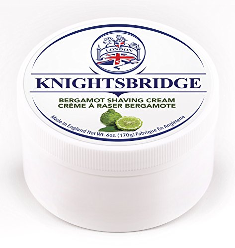 Knightsbridge - Bergamot Shaving Cream 170g