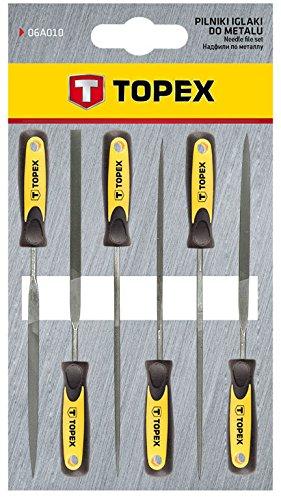 Topex 06A010 Limas de aguja para metal 19348c68c733