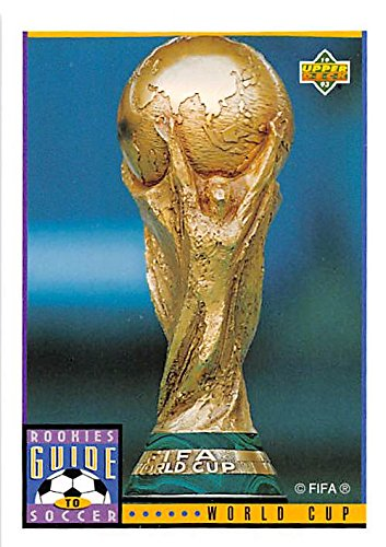 World Cup Trophy trading card (Soccer Football FIFA) 1993 Upper Deck #130 1993 Upper Deck Football Card
