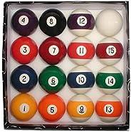 Trademark Global Deluxe Billiard Pool Ball Set
