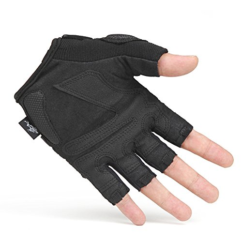 outdoor training mountaineering cycling gloves/Climbing slip wear half finger gloves