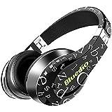 Bluedio A (Air) Cuffie Bluetooth Alla Moda Auricolari Wireless Con Microfono/ HD Diaphragm/ Twistable Headband/ 3D Surround Sound (Nero)