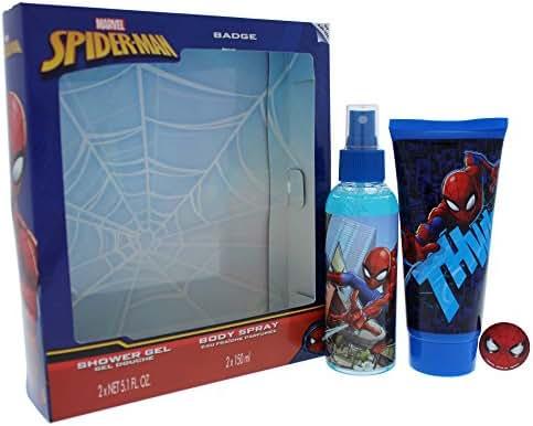 Marvel Spider Man 3 Piece Gift Set for Kids