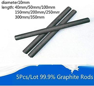 10 piece graphite electrodes Graphite Rods Arc Lamp 10mm x 110 MM