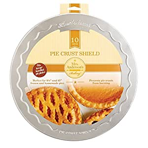 Mrs. Andersonu0027s Baking Pie Crust Protector Shield Fits 9.5-Inch and 10-  sc 1 st  Amazon.com & Amazon.com: Mrs. Andersonu0027s Baking Pie Crust Protector Shield Fits ...
