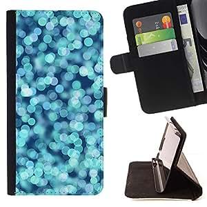 Momo Phone Case / Flip Funda de Cuero Case Cover - Mar Focus brillante brillante de la chispa - Samsung Galaxy A5 ( A5000 ) 2014 Version