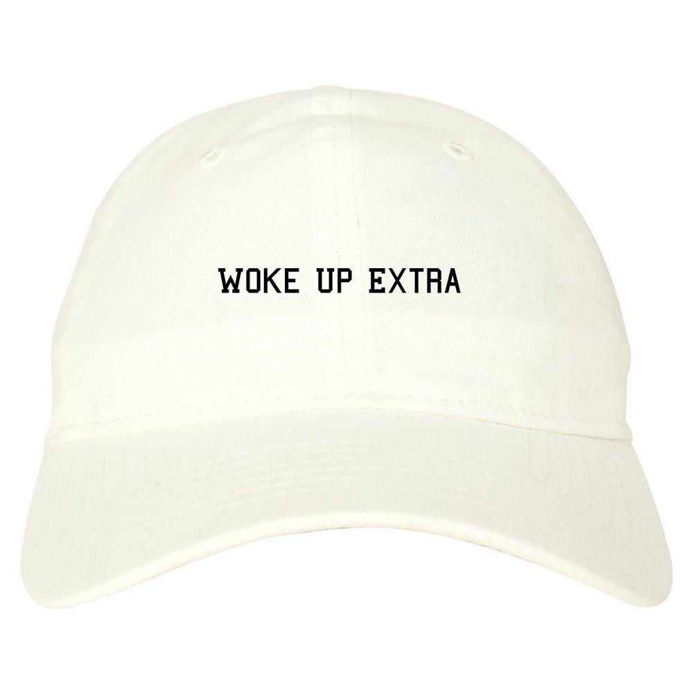 0b2c03400f8 Amazon.com  FASHIONISGREAT Woke Up Extra Dad Hat Baseball Cap Beige   Clothing