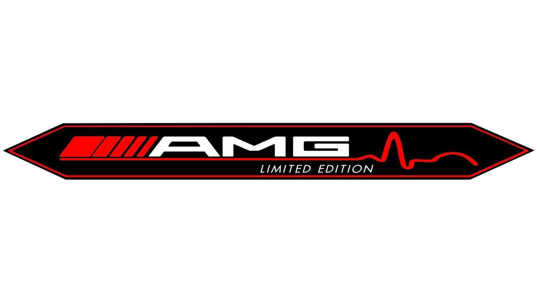 AMG Limited Edition Special 3D Emblem,Badge,Schwarz//Chrom F/ür Alle Modelle