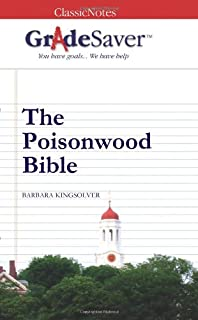 The Poisonwood Bible paper....Help me please?!?!?!?