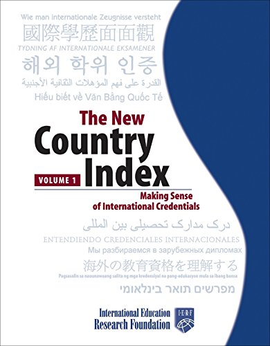 The New Country Index: Making Sense of International Credentials (Self Publishing Legal Handbook)