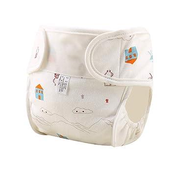 Pañal impermeable reutilizable para bebés,pañal de algodón ...