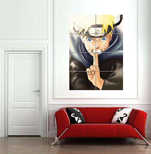 Naruto Shippuden By Mmbjulien Giant Wall Art New Poster Picture Print Huge