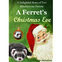 A Ferret's Christmas Eve ( A Fiction Story for Children 4-8 and Adults) (Slinky and Bandit Book 1)