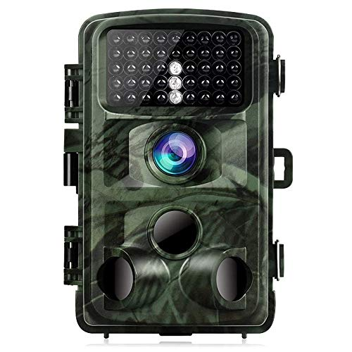 (TOGUARD Trail Camera 14MP 1080P Game Cameras with Night Vision Motion Activated Waterproof Wildlife Hunting Cam 120° Detection with 0.3s Trigger Speed 2.4