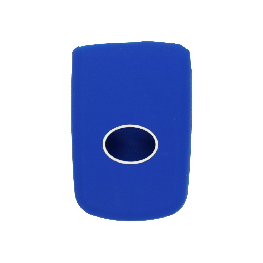SEGADEN Silicone Cover Protector Case Skin Jacket fit for TOYOTA 3 Button Smart Remote Key Fob CV2401 White