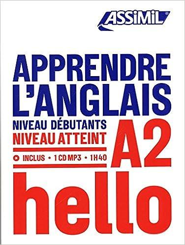 Amazon Fr Apprendre L Anglais Niveau A2 Tony Bulger Livres